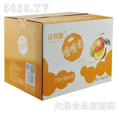 京智源玻璃杯芒果果肉(暖套)410mlx12瓶