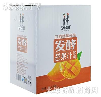 京智源发酵芒果汁1lx6瓶