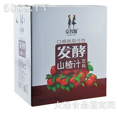 京智源发酵山楂汁1lx6瓶