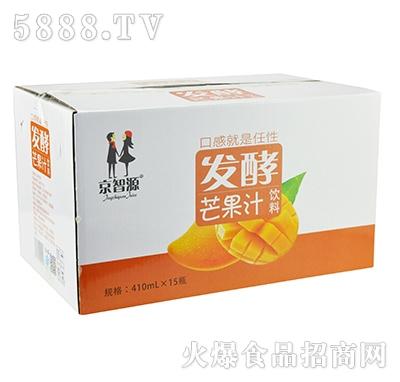 京智源发酵芒果汁410mlx15瓶