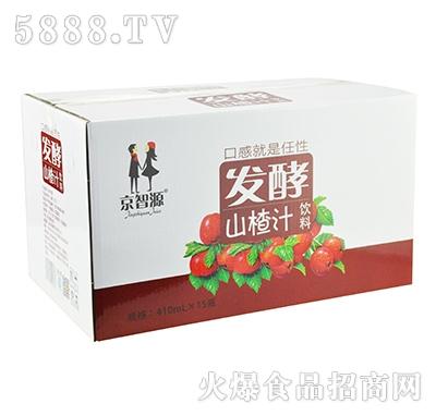 京智源发酵山楂汁410mlx15瓶