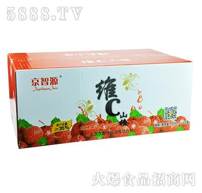 京智源屋顶维C山楂汁500mlx15盒