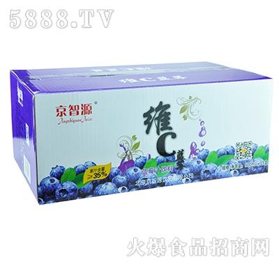 京智源屋顶维C蓝莓汁500mlx15瓶