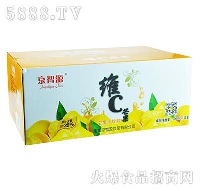 京智源屋顶维C芒果汁500mlx15瓶