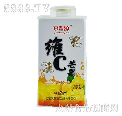 京智源屋顶维C芒果汁500ml