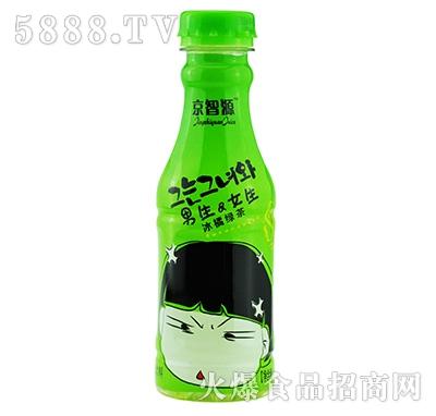 京智源男生女生冰橘绿茶480ml