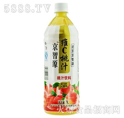 京智源维C桃汁(圆瓶)1l