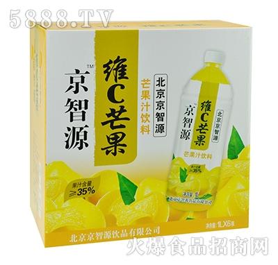 京智源维C芒果汁1lx6瓶