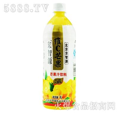 京智源维C芒果汁(圆瓶)1l