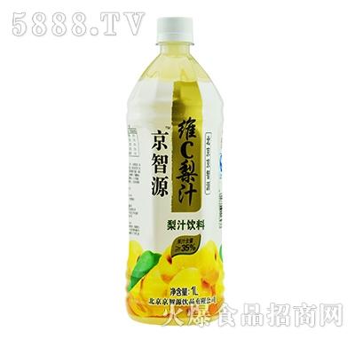 京智源维C梨汁(圆瓶)1l
