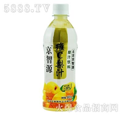 京智源维C梨汁(圆瓶)490ml