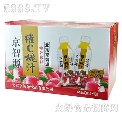 京智源维C桃汁(圆瓶)490mlx15瓶