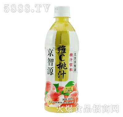 京智源维C桃汁(圆瓶)490ml