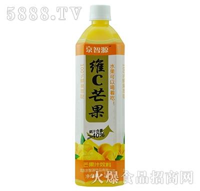 京智源维C芒果汁(方瓶)1升