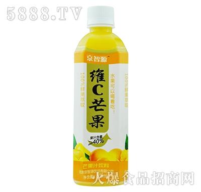 京智源维C芒果汁(方瓶)500毫升