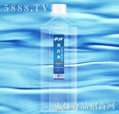 中启苏打水380ml