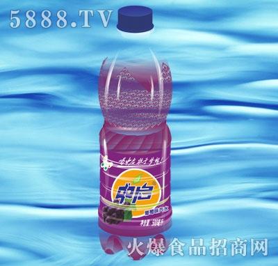 中启葡萄味汽水500ml