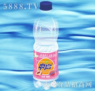 中启水蜜桃味汽水500ml