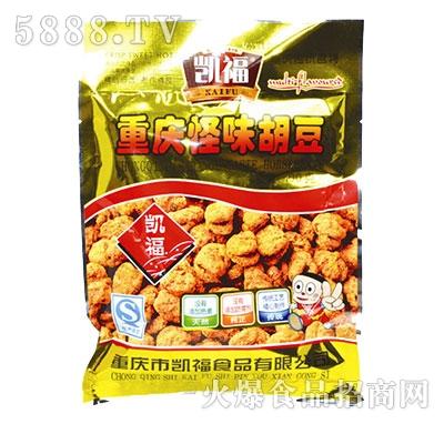 重庆怪味胡豆-100g散称产品图
