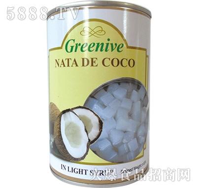 绿盛椰果罐头罐装
