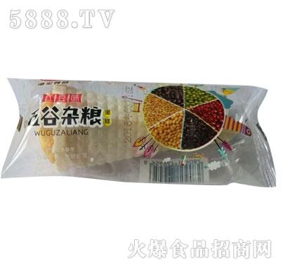 港宏五谷杂粮蛋糕红豆味