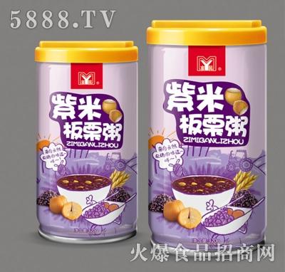 蜜园紫米板栗粥320g