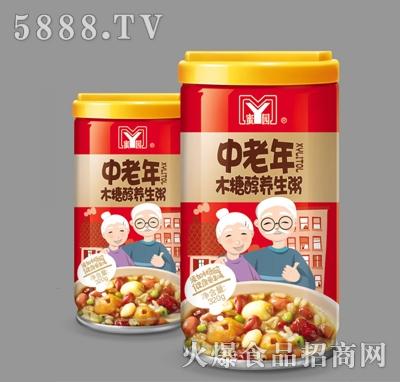 蜜园中老年木糖醇养生粥罐320g