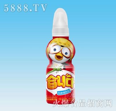 优润乳酸菌饮料200ml草莓味