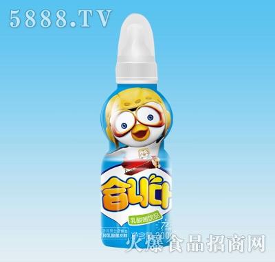 优润乳酸菌饮料200ml原味