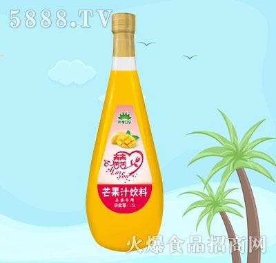 四季分享芒果汁饮料1.5L