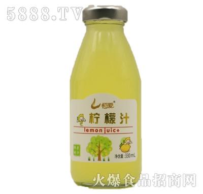恒爱柠檬汁饮料330ml