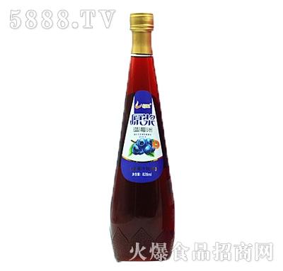 恒爱原浆蓝莓汁828ml