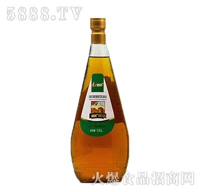 恒爱鲜榨苹果醋1.5L