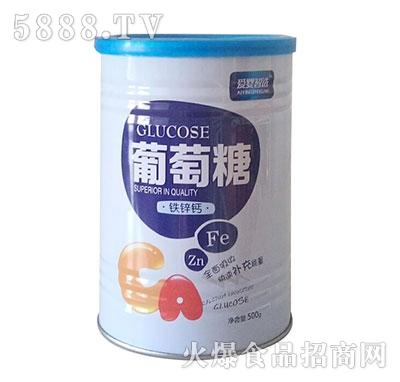 润昕葡萄糖铁锌钙500g