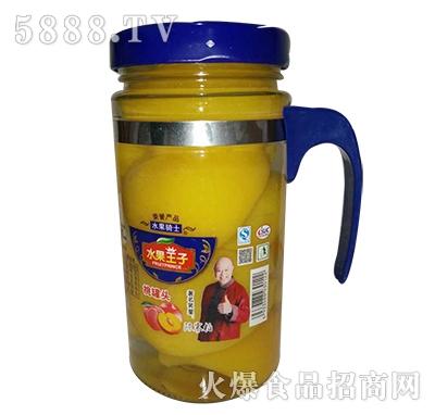 水果王子桃罐头638g
