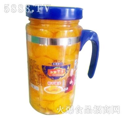 水果桔子罐头638g