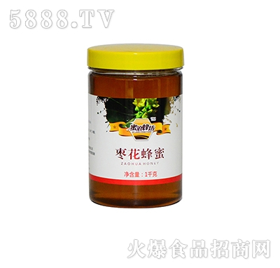 蜜浪蜂坊枣花蜂蜜1000克