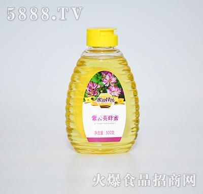 蜜浪蜂坊紫云英蜂蜜500克
