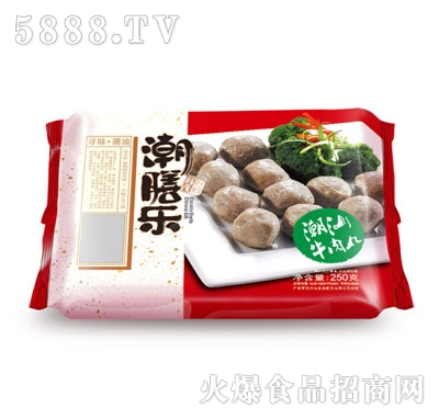 潮膳乐潮汕牛肉丸250g