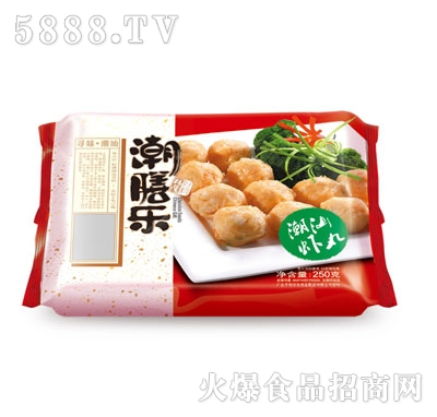 潮膳乐潮汕虾丸250g