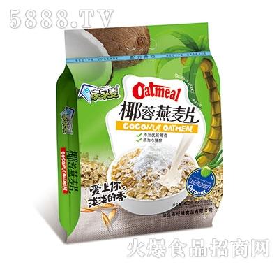 家家麦椰蓉燕麦片420克产品图