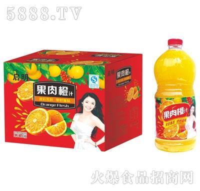 启明果肉橙汁2.5Lx6