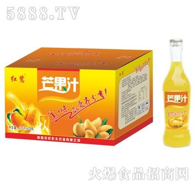 易拉盖红鹭芒果汁275mlx24