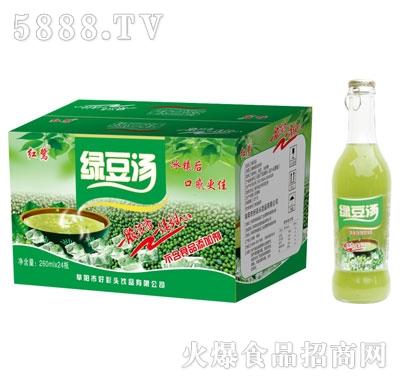 易拉盖红鹭绿豆汤260mlx24
