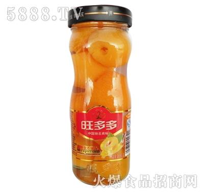 旺多多高方杯冰糖甜杏罐头500g