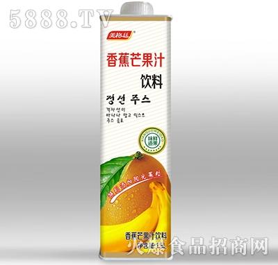 美格丝香蕉芒果汁饮料1.5L