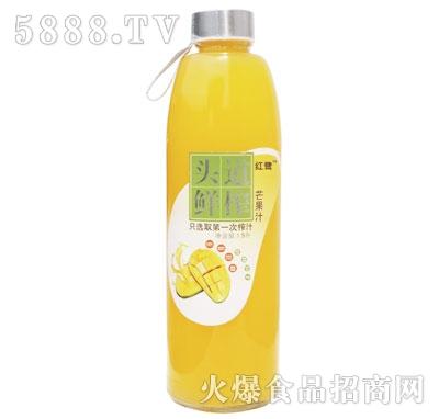 红鹭头道鲜榨芒果汁1.5L
