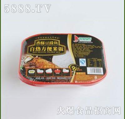 得益绿色香酥豆鼓鱼自热方便米饭