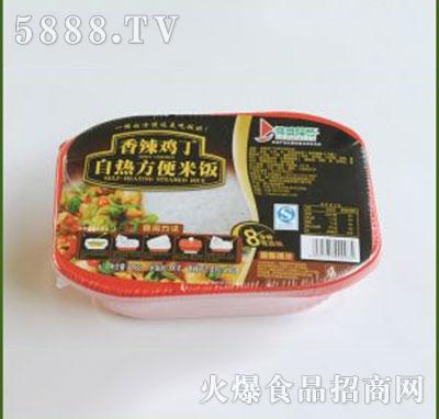 得益绿色香辣鸡丁自热方便米饭