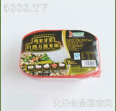 得益绿色鸡米芽菜自热方便米饭